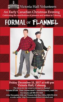 Formal and Flannel Poster