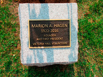Marion Hagen Dedication