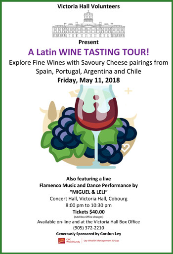 Latin Wine Tasting Event 2018